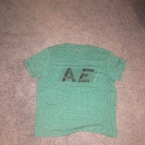 Green American Eagle Tee Shirt